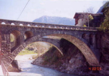 15th Century Bridges. Photo by Lisette Keating April, 2005