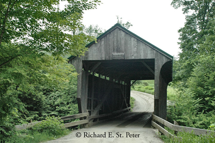 Kissing Bridge Vermont Vermont Covered ...