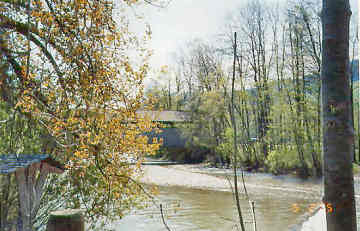 Aeschau Bridge. Photo by Lisette Keating May, 2005