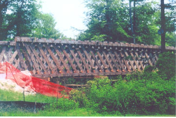Bagley Bridge. Photo by Howard Rogers, July 2, 2008