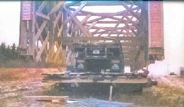 Beausejour bridge Photo 11/10/03, provided by Gerald Arbou