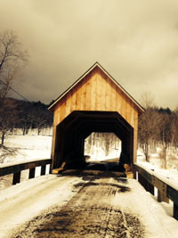 Bowers covered bridge