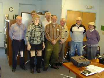 Bridge-watch Workshop. Photo by Joe Nelson January 26, 2002