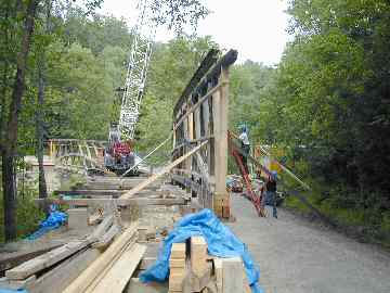 Canyon Bridge. Photo by Joe Nelson, August 3, 2004