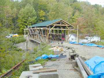 Canyon Bridge. Photo by Joe Nelson, Sept.21, 2004