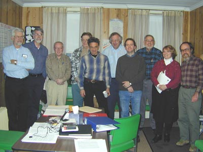Covered Bridge Preservation Policy Committee: Photo by Ruth Nelson, Jan. 20, 01