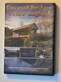 Covered Bridges of New England -DVD