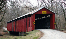 Charlton Mill covered bridge