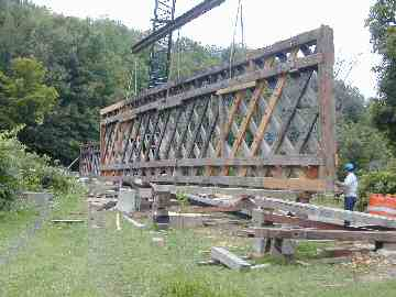 Comstock Bridge. Photo by Joe Nelson, August 28, 2003