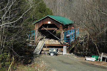 Creamery Bridge. Photo by Joe Nelson November 12, 2008