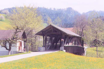 Dieboldswil Bridge. Photo by Lisette Keating May, 2005