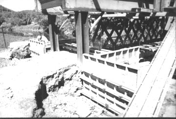Fitches Bridge. Photo supplied by Phil Pierce, June 10, 2001