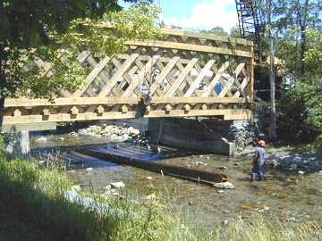 Fuller Bridge. Photo by Joe Nelson, July, 2000