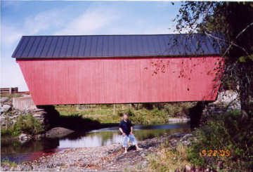 Gifford Bridge. Photo by Liz Keating, September 22, 2005