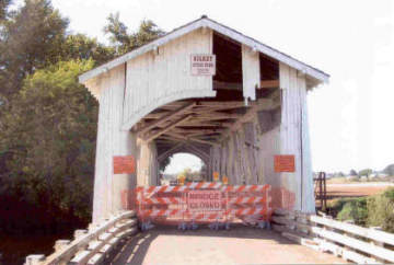 Gilkey Bridge. Photo by Bill Cockeell, Sept. 27, 2007