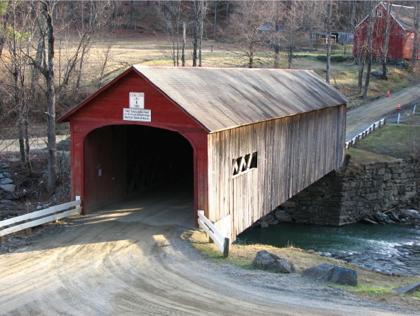 Green River Covered Bridge photo by Bill Caswell