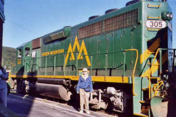 Green Mountain Railroad. Photo by Liz Keating, September 24, 2005