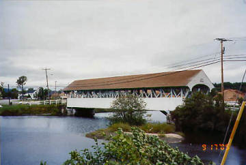 Groveton Bridge. Photo by Liz Keating, September 17, 2005