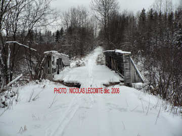 Hall Creek Pony Truss. Photo by Nicolas Lecomte December, 2006