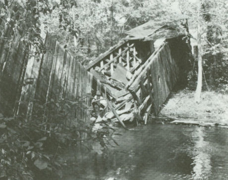 Hall Bridge, Photo by Dick Roy, 1980
