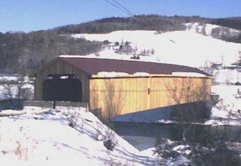 Hamden Bridge. Photo by Dick Wilson, 01/13/01