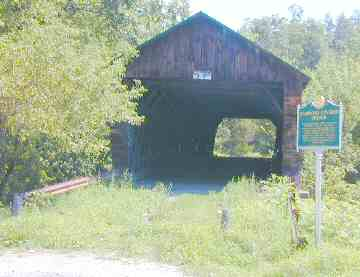 Hammond Bridge. Photo by Joe Nelson, Aug. 19, 2003