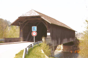 Hornbenbrucke Bridge. Photo by Lisette Keating May, 2005