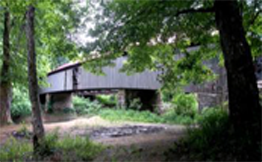 Humpback covered bridge before the fire