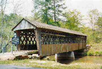 Poole's Mill Bridge GA-58-01. Photo by Lisette Keating 4/20/04