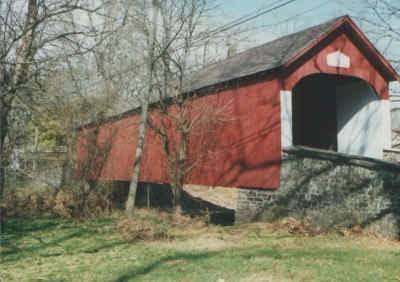 Knecht's Bridge, 38-09-02.  Photo by R. Johnson, 1996