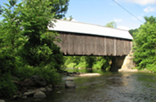 Larkin Bridge - Tunbridge, VT