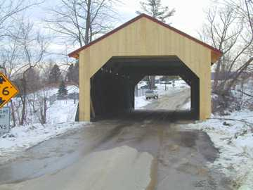 Maple Street Bridge. Photo by Joe Nelson February 15, 2002