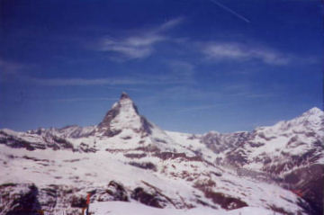 Matterhorn. Photo by Lisette Keating April, 2005