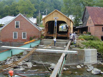 Mill Bridge at Tunbridge: Photo by Joe Nelson, 7/3/00