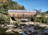 Mill Bridge - Tunbridge, VT