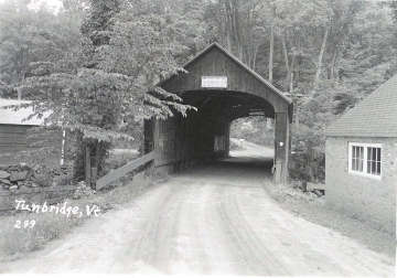 Mill Bridge, Tunbridge, Vermont