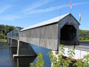 Florenceville Bridge. Photo by the Keatings September 21, 2009