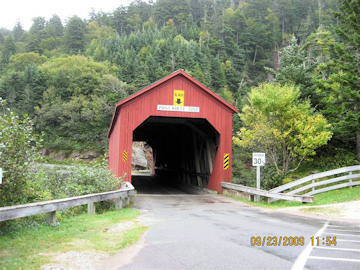 Point Wolfe Bridge. Photo by the Keatings September 23, 2009