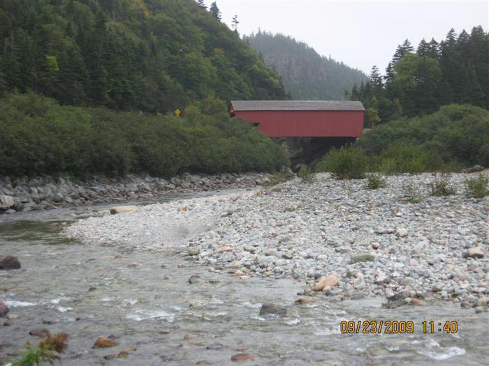 Point Wolfe River and Bridge. Photo by the Keatings September 23, 2009
