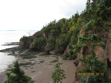 Hopewell Rocks. Photo by the Keatings September 24, 2009