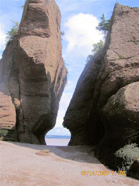 Hopewell Rocks View. Photo by the Keatings September 24, 2009