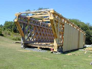 New North Hartland Bridge. Photo by Joe Nelson, August 15, 2001