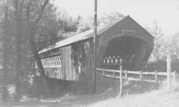 Pompanoosuc Bridge. Photo from NSPCB Archives