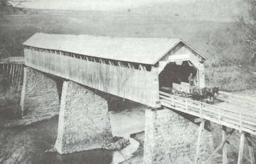 Port Royal Covered Bridge � R.S. Allen
