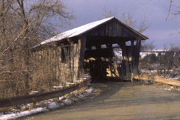 Quinlan Bridge. Photo by Joseph Nelson November 01,1996