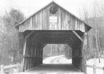 Salmond Covered Bridge. Photo by Edith Hunter