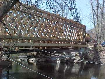 Sanderson Bridge. Photo by David Guay, May 1, 2003