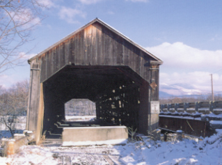 Sanderson Bridge in Brandon: Photo by Joe Nelson, 1997