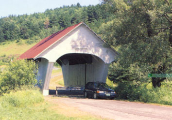 School House Bridge - 1879. Photo by Joe Nelson, June 1995