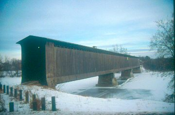 Swanton Railroad Bridge, photo by D.A. Juaire